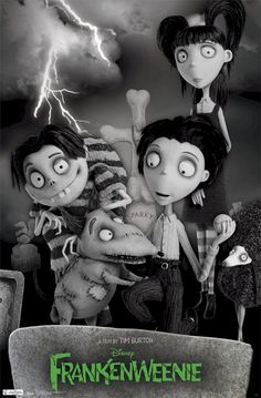 'Frankenweenie' -- Major Con: personal feeling of disconnection. Some Pro: Great style, mood, decent story