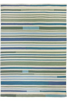 Shea Area Rug - Outdoor Rugs -  Striped Rugs -  Beachy Rugs -  Hand-hooked Rugs -  Synthetic Rugs | HomeDecorators.com