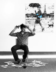 Beginning with a model and a photo shoot, Derek Gores relies on inspiration, ...