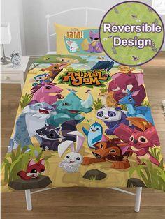 Animal Jam Pawsome Single Panel Duvet 1a