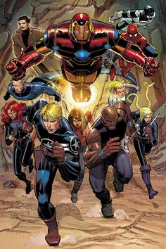 Iron Man & Avengers John Romita Jr