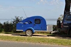 4x4+Teardrop+Camping+Trailers | Home Teardrop Camper Off Road Teardrop Camper Contacts 4X4 Storage ...