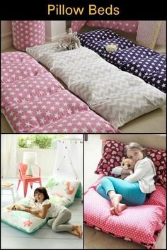 Make your kids this DIY pillow bed! 2019 Make your kids this DIY pillow bed! The post Make your kids this DIY pillow bed! 2019 appeared first on Pillow Diy. Baby Pillows, Kids Pillows, Floor Pillows, Pillow Mattress, Pillow Beds, Portable Bed, Diy Bett, Sewing Projects For Kids, Sewing Ideas