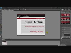 Installing Actions into PSE 9 and up (Photo Effects Method)