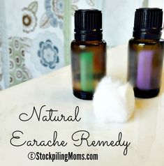 This Natural Ear Pain Remedy works amazingly well and fast!  I can attest to this relief because I have used this remedy many times. As you may know from some of my previous posts that I love using essential oils for my family as a wholesome approach to health.  I personally get many earaches due to my hearing loss from Meinere's Disease.  With the help of lavender and tree tea oil it helps ease the ache and pain away. This is a great solution when you wake up in the middle of the night w...