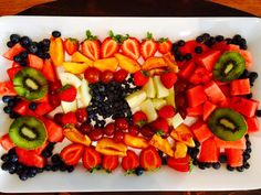You can eat Healthy anywhere. I'm at a cottage and made this Fabulous Fruit Salad.
