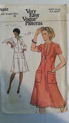 Dresses, Size 16, Vogue 9203