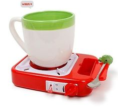 Cup warmer that plugs into your usb port...oh I am loving this geeky thing...