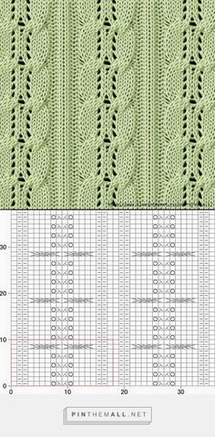 - a grouped images picture - Pin Them All Knitting Stiches, Knitting Charts, Easy Knitting, Loom Knitting, Stitch Patterns, Knitting Patterns, Crochet Patterns, Wire Crochet, Knit Crochet