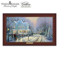 Thomas Kinkade A Holiday Gathering Wall Decor - Doug -iPad