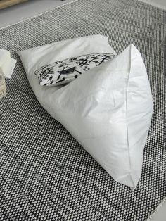 DIY / SÄKKITUOLI PARVEKKEELLE | oblik.