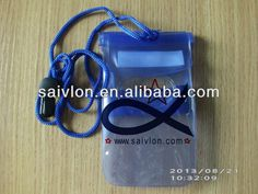 PVC waterproof mobile phone case with lanyard Fiting for all kinds of smartphone,and Mp3. Welcome OEM