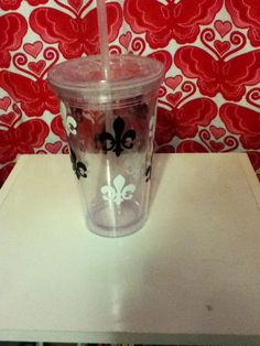 Decorated cup $7.00