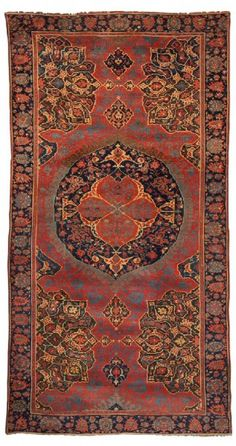 Turkish Ushak rug, early 17th century