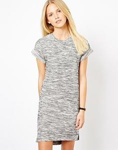 ASOS Knitted Dress With Rolled Sleeves CHF56.21