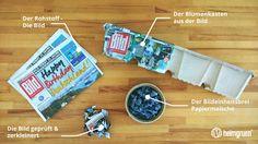 Von der Bild Zeitung zum Blumenkasten oder: Was kann man Sinnvolles aus der gratis Bild machen?  http://blog.heimgruen.de/blog/von-der-bild-zeitung-zum-blumenkasten-oder-was-kann-man-sinnvolles-aus-der-gratis-bild-machen/#Altpapier #Balkonkasten #Bild #Recycling