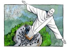 22 June 2013 - Morland on the riots in Brazil which have a hint of the London riots about them.