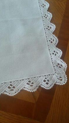 How to Crochet a Bodycon Dress/Top Crochet Edging Patterns, Crochet Lace Edging, Crochet Borders, Filet Crochet, Crochet Diy, Crochet Table Mat, Crochet Tablecloth, Crochet Embellishments, Linen Placemats