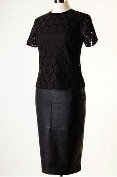Eva Mendes Collection - Julie Lace Shirt