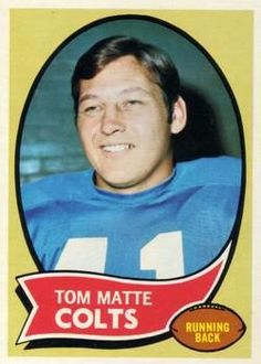 142 - Tom Matte - Baltimore Colts