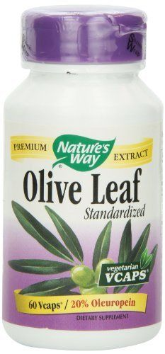 Nature's Way Olive Leaf 20%   (Haven't tried this but stellar reviews )  Oleuropein, 60 Vcaps, http://www.amazon.com/dp/B000F4WTGE/ref=cm_sw_r_pi_awdl_mBoTsb15C12T2