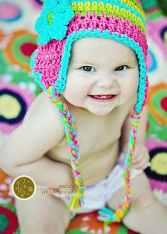 hats off to cuteness: not sure if i love the hat or the photo more