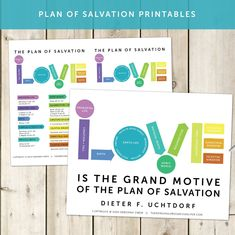 """This plan of salvation """"LOVE"""" printable packet includes helpful tools to teach the plan of salvation in primary, youth lessons, and missionary discussions! Plan Of Salvation Lds, Youth Lessons, Activities For Boys, Life After Death, Family Home Evening, Personal Progress, Chalk Drawings, Love Illustration, Gods Plan"""