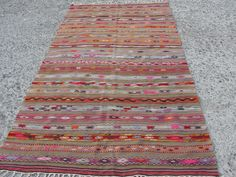 """Turkish Cicim Traditional Wool Rug Carpet 54"""" x 106"""" inches ($298.00) - Svpply"""
