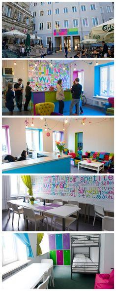 Patchwork Design Hostel è un nuovo ostello nel cuore di #Varsavia con interni minimal e dai colori vivaci! #lovehostels