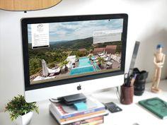 #agencerebelle - création design graphique site web #domainedechalveches