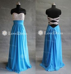 blue prom dresses,blue prom dress, dresses for prom, prom dresses 2014, best prom dresses,sequin prom dress,strapless prom dress on Etsy, £114.09