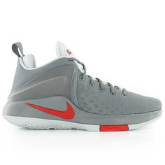 brand new 3ace0 ac52d nike ZOOM WITNESS COOL GREY UNIVERSITY RED-PURE PLATINUM