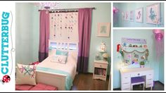 Diy Mermaid Bedroom On A Budget Before And After Room Tour throughout Mermaid Room Decor Mermaid Room Decor, Mermaid Bedroom, Diy Room Decor, Bedroom Decor, Home Decor, Wall Decor, Bedroom Ideas, Mermaid Diy, Refashioning