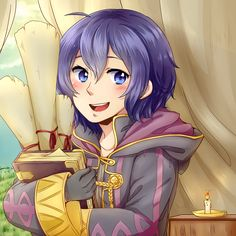 Morgan - Robin and Lucina's Daughter. And Chrom's granddaughter.