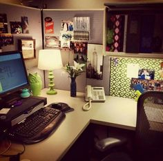 25 Cubicle Workspace Decoration Ideas