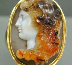 Ancient Roman Cameo circa 400 BC
