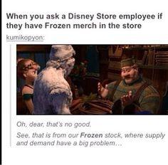 Disney movie. Frozen. Yoohoo! Big summer blow out! Disney stores