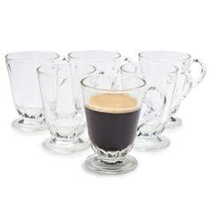 La Rochère Louison Coffee Mugs, Set of 6 | Sur La Table