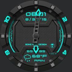 Regen Hybrid watch face preview