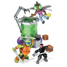 Mega Bloks Nickelodeon Teenage Mutant Ninja Turtles - Baxter Mutation Lab