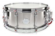 Dunnett Classic Stainless Steel Snare Drum 14x6.5