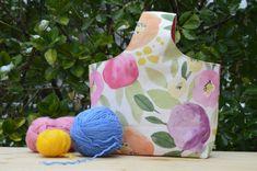 Come cucire una Kimono Bag - Cucire a Macchina Kimono, Diy And Crafts, Apron, Projects To Try, Couture, Pattern, Bags, Sewing, Fabric Purses