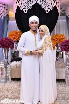 Islamic wedding attire