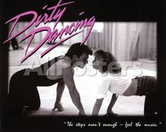 Dirty Dancing Movie Patrick Swayze Dancing Jennifer Grey 80s Poster Print People Mini Poster - 51 x 41 cm