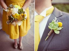 159 best Yellow and Grey Wedding Ideas images on Pinterest | Dream ...