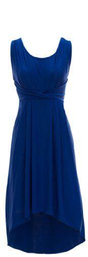 Bright & Bold Sleeveless Criss-Cross Waistline High-Low Dresses (Small, Blue) Peach Couture http://www.amazon.com/dp/B00BXP0CH2/ref=cm_sw_r_pi_dp_a-U2tb162MW9VN0A
