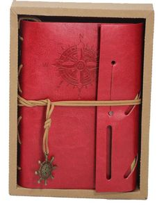 A finely finished journal with a standard six ring binder clip inside that will accept most refill paper meant for date books and journals with the…