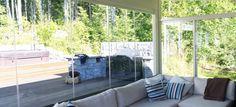 Terrace glazing example 1