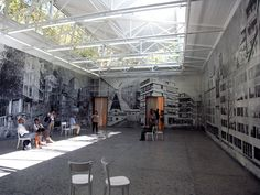 """and now the ensemble"" for the Swiss pavilion at the Venice architecture festival"
