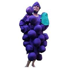 SY18 Weintraube Kostüm Fasching Kostüme Weintraubenkostüm Weintrauben Karneval